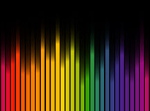 colored stripes background royalty free illustration