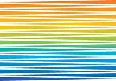 Colored stripes rainbow. Geometric background with colored stripes rainbow stock illustration
