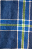 Colored stripes of textile plaid shirt. Colored stripes of textile fabric plaid shirt. texture for background Stock Photography