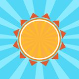 Colored summer background. Vector vector illustration