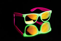 Colored sunglasses. Royalty Free Stock Photo