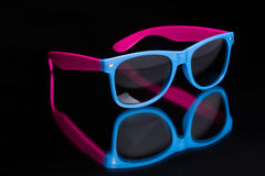 Colored sunglasses. Stock Photo