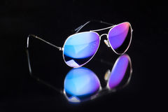 Colored sunglasses. Stock Photos