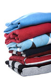 Colored sweater close up Stock Photos