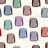 Colored sweaters Stock Photography