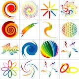 Colored Symbols Royalty Free Stock Photography