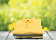 Colored T-Shirt Royalty Free Stock Image
