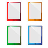 Colored tablets #1 Royalty Free Stock Photos