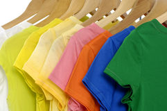 Colored Tee Royalty Free Stock Images