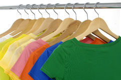 Colored Tee Royalty Free Stock Photo