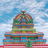Colored Temple Stock Photography
