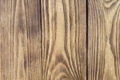Colored textural background of wooden boards arranged vertically. stock photo