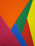 Colored textured paper royalty free stock photo