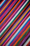 Colored thread. Close up of colored thread for weaving Stock Image