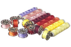Colored thread Royalty Free Stock Image