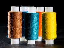 Colored thread Stock Photos