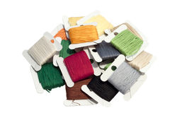 Colored thread set Stock Photos