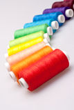 Colored thread for sewing Royalty Free Stock Image