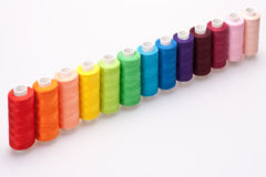 Colored thread for sewing Royalty Free Stock Photography