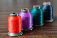 Colored thread Stock Photos