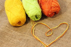 Colored thread Royalty Free Stock Photography
