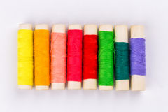 Colored thread Stock Image