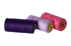 Colored threads Stock Photography
