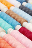 Colored threads for sewing Stock Image