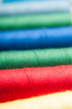 Colored threads Royalty Free Stock Images