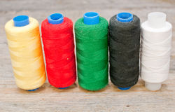 Colored threads Royalty Free Stock Image