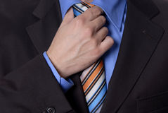 Colored tie Royalty Free Stock Photos