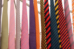 Colored ties Stock Photos