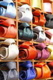 Colored ties Royalty Free Stock Photo