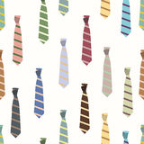 Colored ties Royalty Free Stock Image