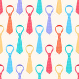 Colored ties Stock Image