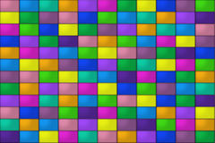 Colored Tiles. A background of colored tiles Stock Photos