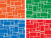 Colored tiles Stock Photo