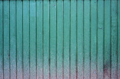 Colored timber wall Stock Image