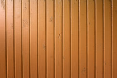 Colored timber wall Stock Photography