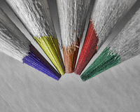 Colored Tips Royalty Free Stock Images