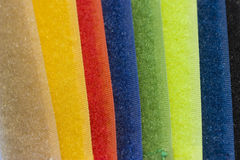 Colored tissue. A background with different colored tissue Stock Image