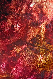 Colored tissue paper stained. Stained paper with colors on it stock photo