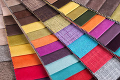 Colored tissue samples Stock Image