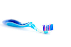 Colored toothbrush Stock Images