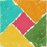 Colored torn paper Royalty Free Stock Images