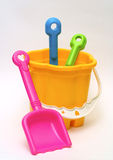 Colored toys stock photography