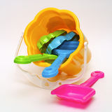Colored toys Stock Photos