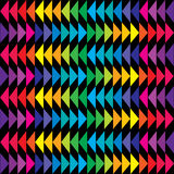 Colored triangle background in bright tones Royalty Free Stock Images