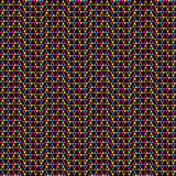 Colored triangle seamless pattern Royalty Free Stock Photos