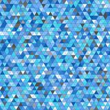 Colored triangle seamless pattern background Royalty Free Stock Image